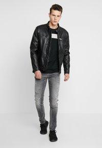 Antony Morato - IGGY - Jeans Tapered Fit - steel greey - 1
