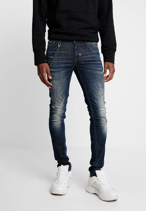 JEANS TAPERED IGGY - Jeansy Skinny Fit - blue denim
