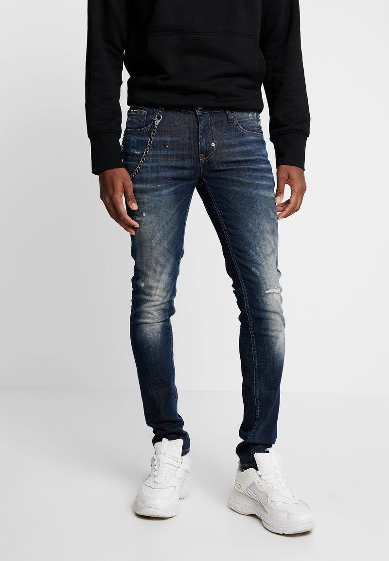 Antony Morato - JEANS TAPERED IGGY - Jeans Skinny Fit - blue denim