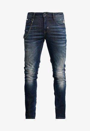 JEANS TAPERED IGGY - Jeans Skinny Fit - blue denim