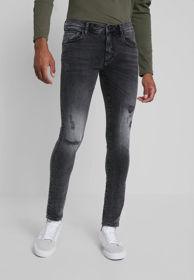 Antony Morato - JEANS SKINNY BARRET METAL - Jeans Skinny Fit - black