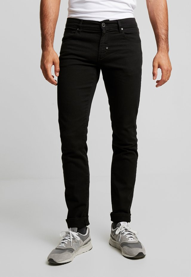 PANTS BARRET - Slim fit -farkut - black