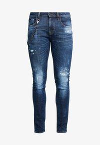 Antony Morato - JEANS TAPERED IGGY - Jeans Skinny Fit - denim blue - 4