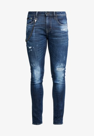JEANS TAPERED IGGY - Jeans Skinny Fit - denim blue