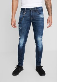 Antony Morato - JEANS TAPERED IGGY - Jeans Skinny Fit - denim blue - 0