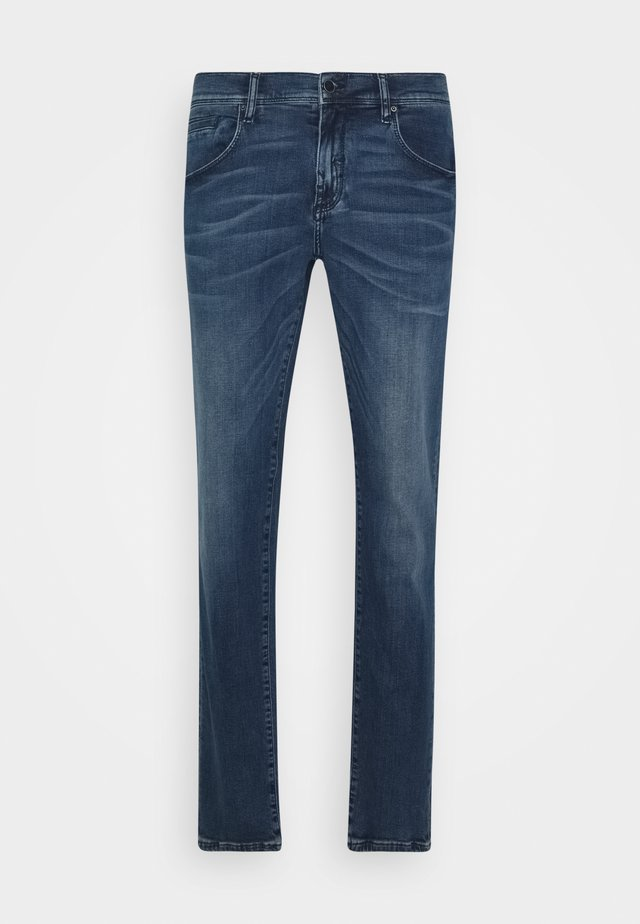 GILMOUR - Jeansy Skinny Fit - blue denim