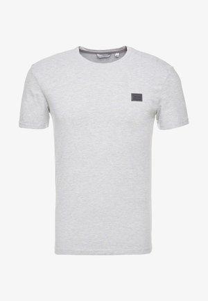 T-shirt basic - grigio melange medio
