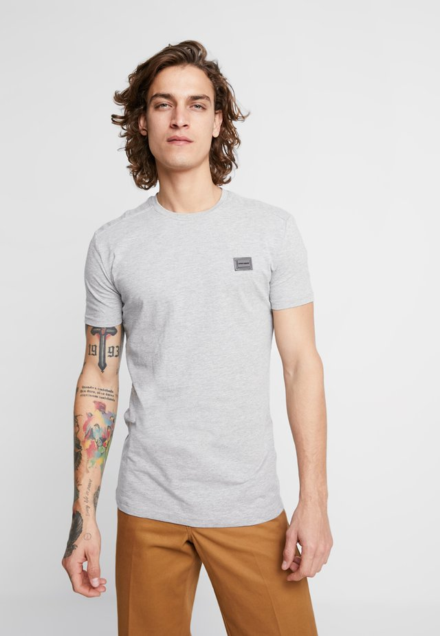 Basic T-shirt - grigio melange medio