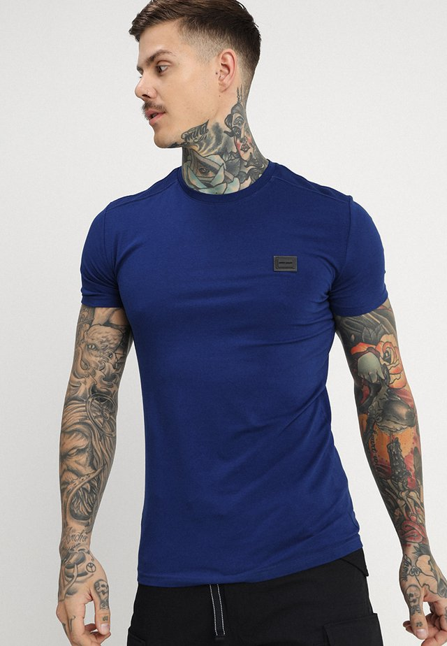 T-Shirt basic - bluette