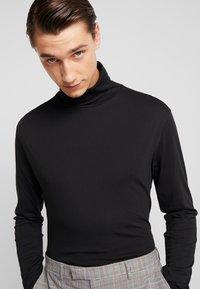 Antony Morato - LONG SLEEVES TOURTLE NECK COLLAR - Camiseta de manga larga - black - 3