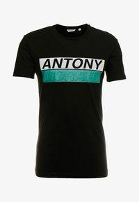Antony Morato - ROUND COLLAR WITH FRONT - Camiseta estampada - black - 3