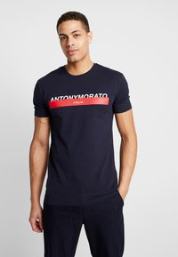 Antony Morato - Camiseta estampada - ink blue - 0