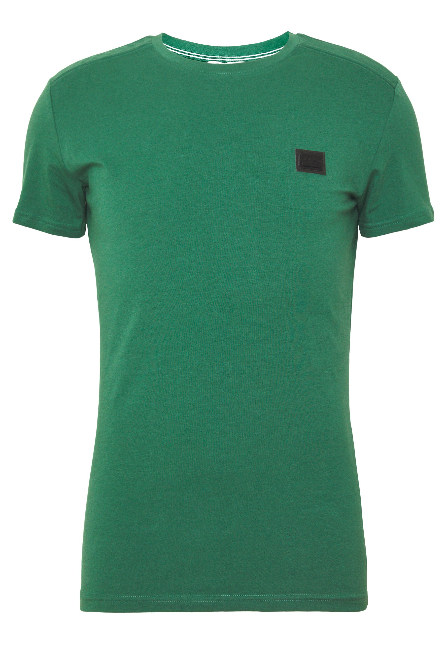 Antony Morato SPORT ROUND NECK COLLAR WITH PLAQUETTE ON CHEST - T-shirt basic - deep green