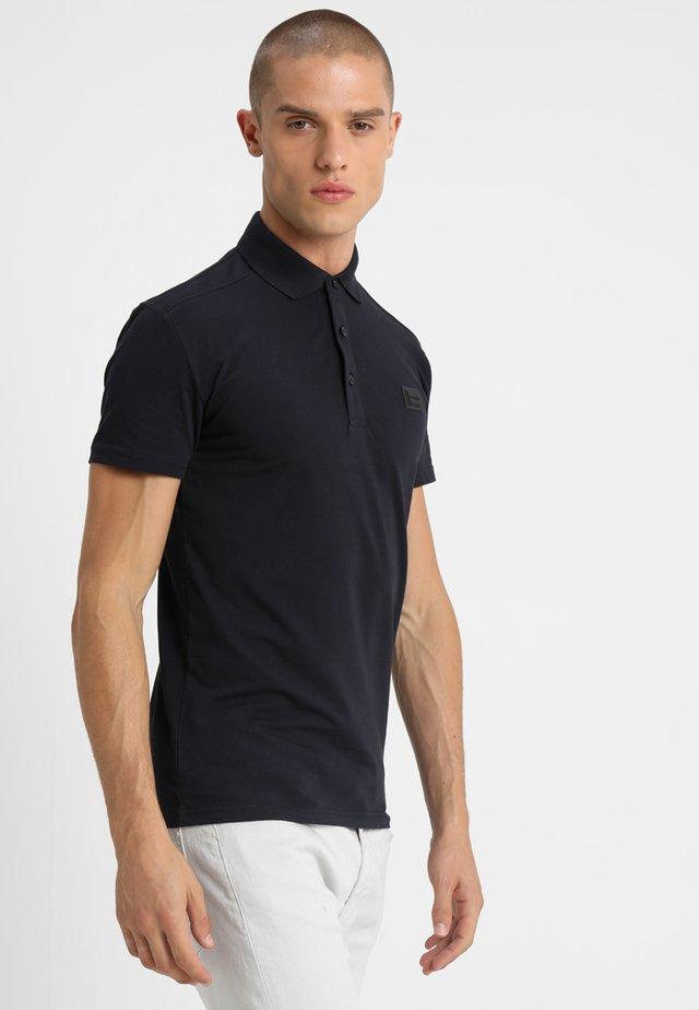 SPORT PLAQUETTE - Polo shirt - blu notte
