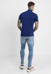 Antony Morato - SPORT PLAQUETTE - Poloshirts - bluette - 2