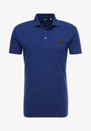 SPORT PLAQUETTE - Polo shirt - bluette