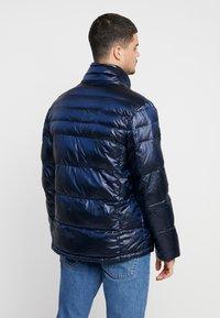 Antony Morato - COAT WITH DETACHABLE HOOD AND PATCH - Zimní bunda - blue lapis - 3