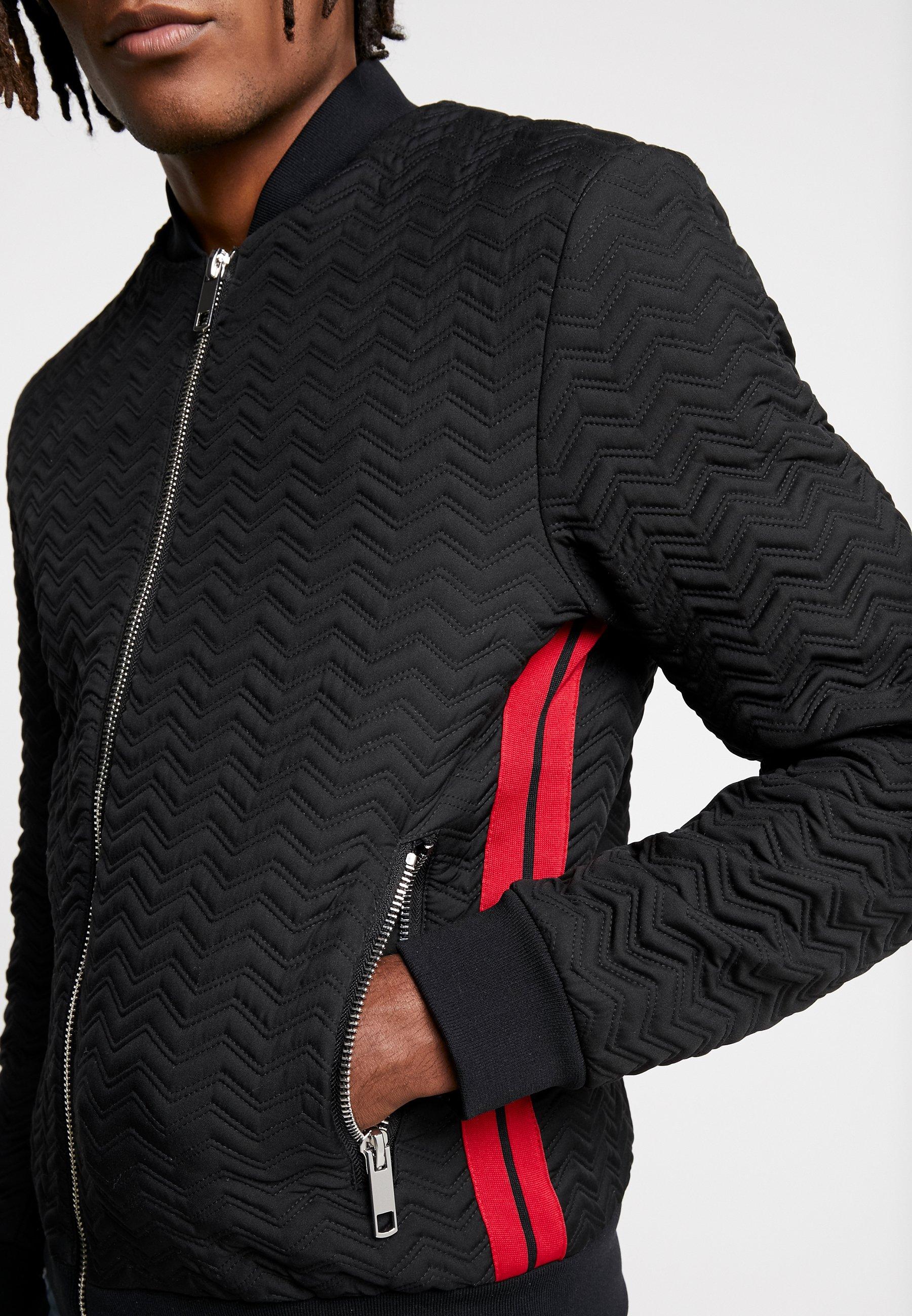 Antony Morato Cheked Design - Bomberjacke Black