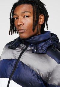 Antony Morato - COAT WITH STRIPES AND DETACHABLE HOOD - Winter jacket - white - 6