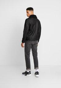 Antony Morato - SHEARLING - Faux leather jacket - black - 2