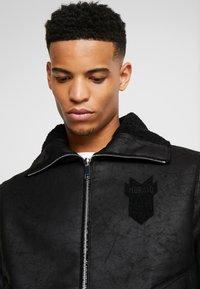 Antony Morato - SHEARLING - Faux leather jacket - black - 5