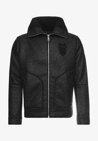 Antony Morato - SHEARLING - Faux leather jacket - black - 4