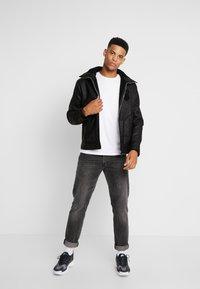 Antony Morato - SHEARLING - Faux leather jacket - black - 1