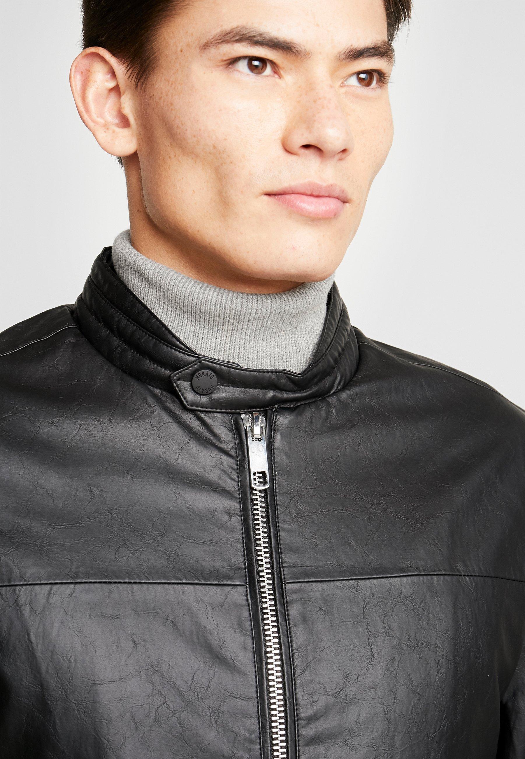 Antony Morato Biker Coat - Giacca In Similpelle Black I8PVU