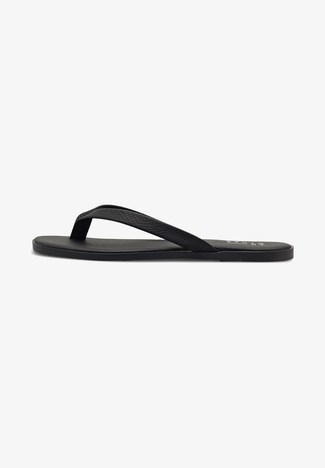 ZEHENTRENNER - T-bar sandals - schwarz