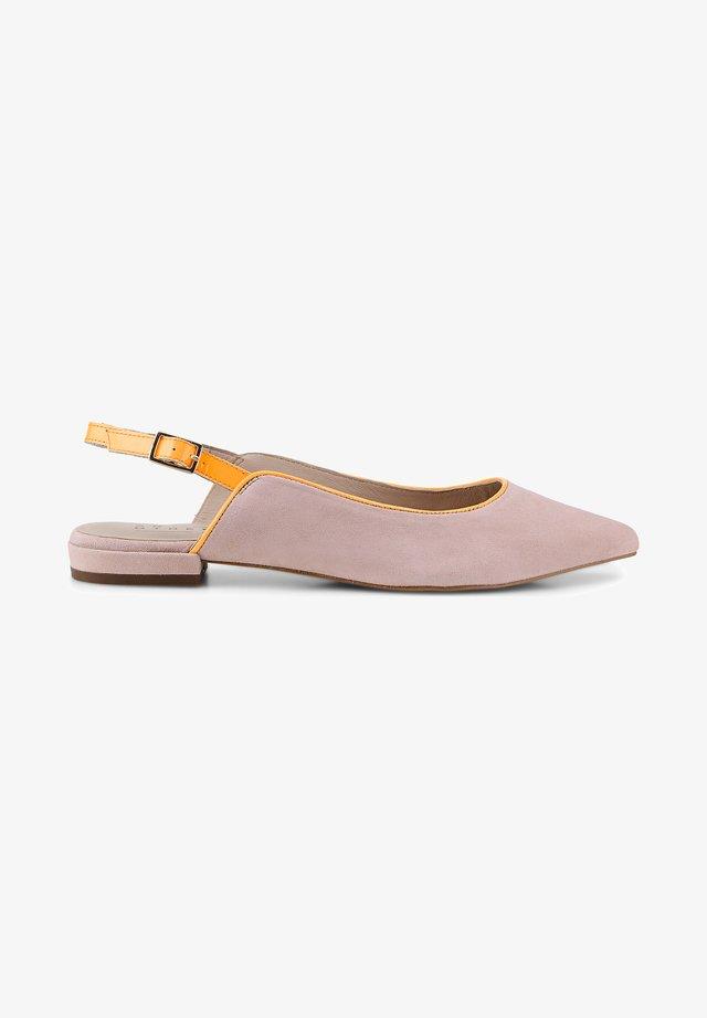 Slingback ballet pumps - rosa