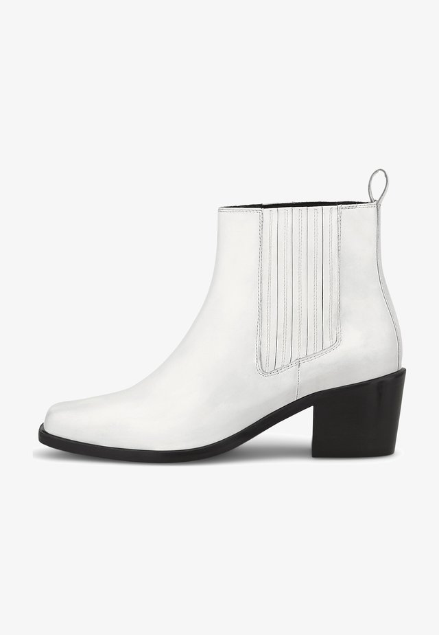Classic ankle boots - weiß