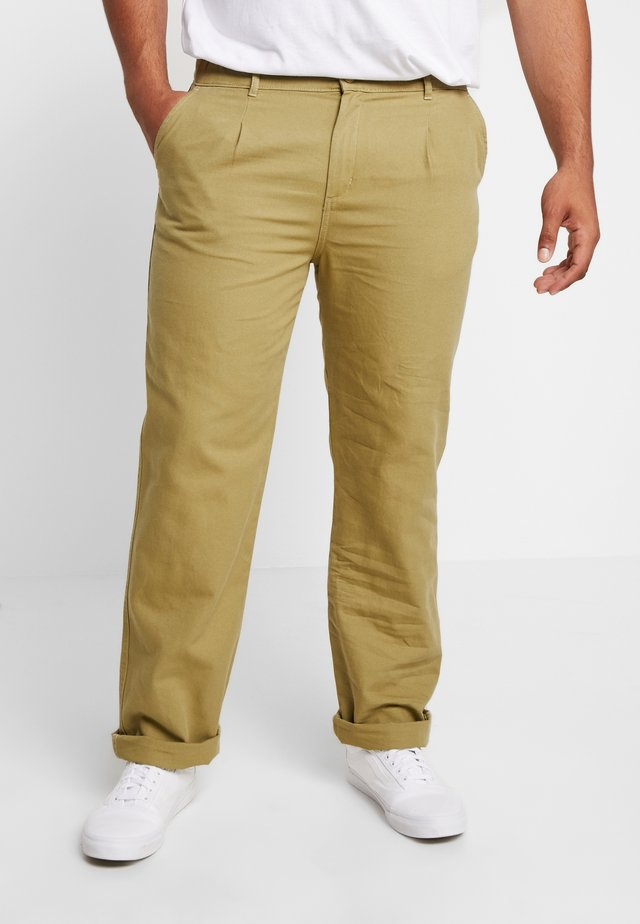 WORKERS TROUSERS - Stoffhose - maquis