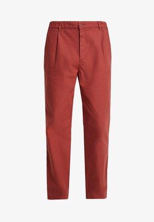 PANTALON GABARE - Kalhoty - red