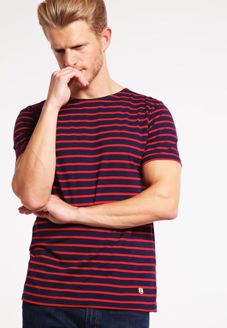 Armor lux - T-shirt print - navire/braise