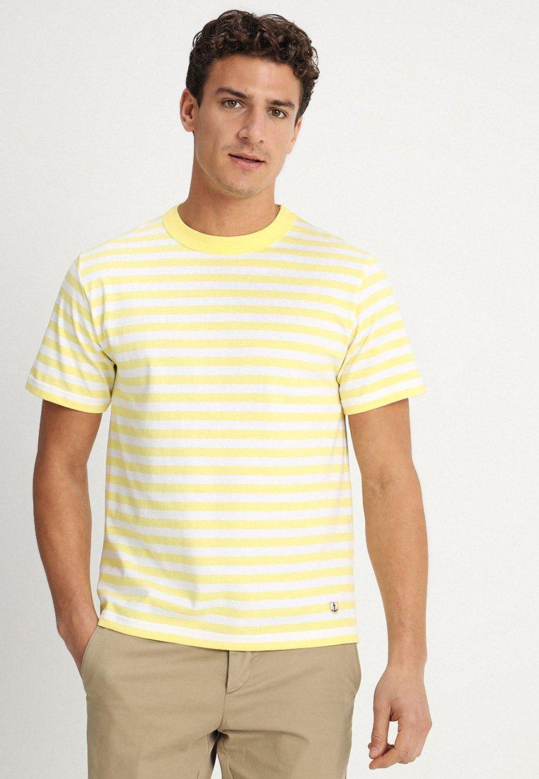 Armor lux - HÉRITAGE - Print T-shirt - rayon/blanc