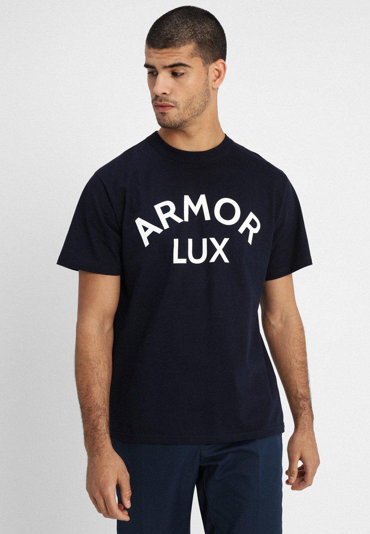 Armor lux - SÉRIGRAPHIÉ HÉRITAGE - Print T-shirt - navire/armor lux