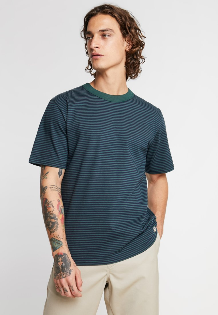 Armor lux - HÉRITAGE - T-shirt con stampa - navire/bottle