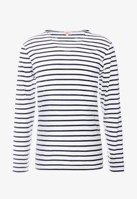 Armor lux - PLOZÉVET TEE - Långärmad tröja - white / blue - 4
