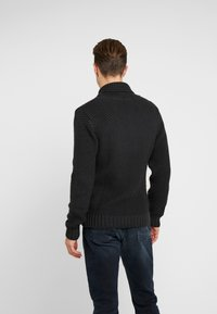 Armor lux - SHAWL COLLAR HEAVY  - Maglione - anthracite - 2