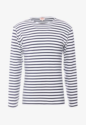 HOUAT - Sweatshirt - white / blue