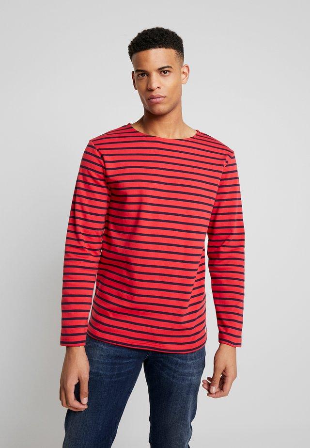 HOUAT - Sweatshirt - rouge/navire