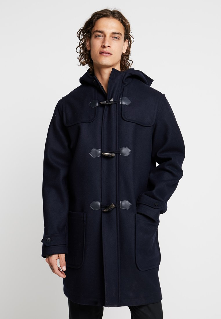 Armor lux - DUFFLE COAT QUIMPER HOMME - Kappa / rock - navire