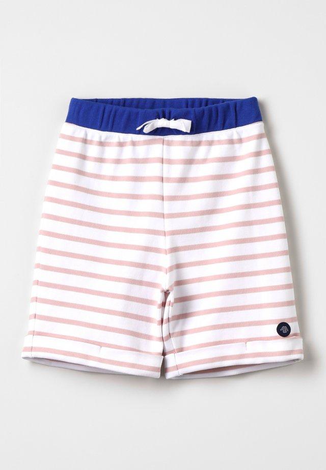 BERMUDA - Shorts - blanc/lotus/etoile