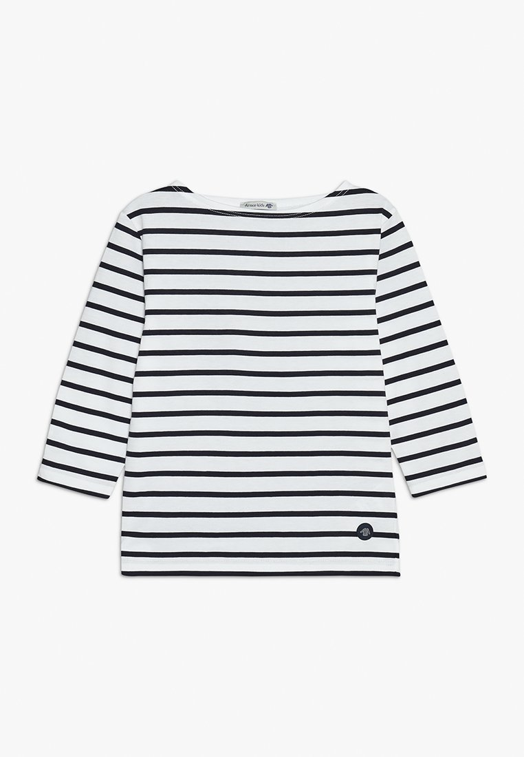 Armor lux - MARINIERE - Long sleeved top - blanc/navire