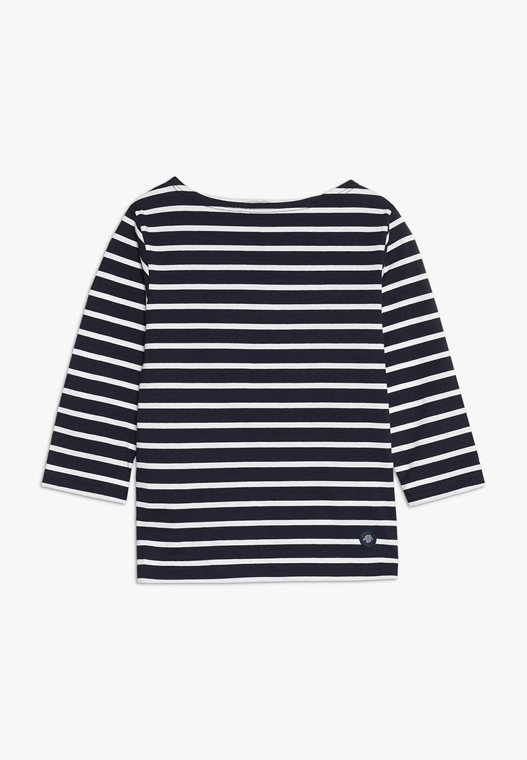 Armor lux - MARINIERE - T-shirt à manches longues - navire/blanc
