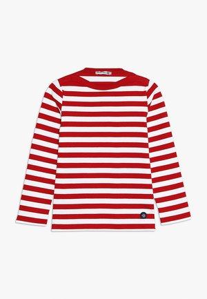 MARINIÈRE TRÉGUNC KIDS - T-shirt à manches longues - braise/blanc
