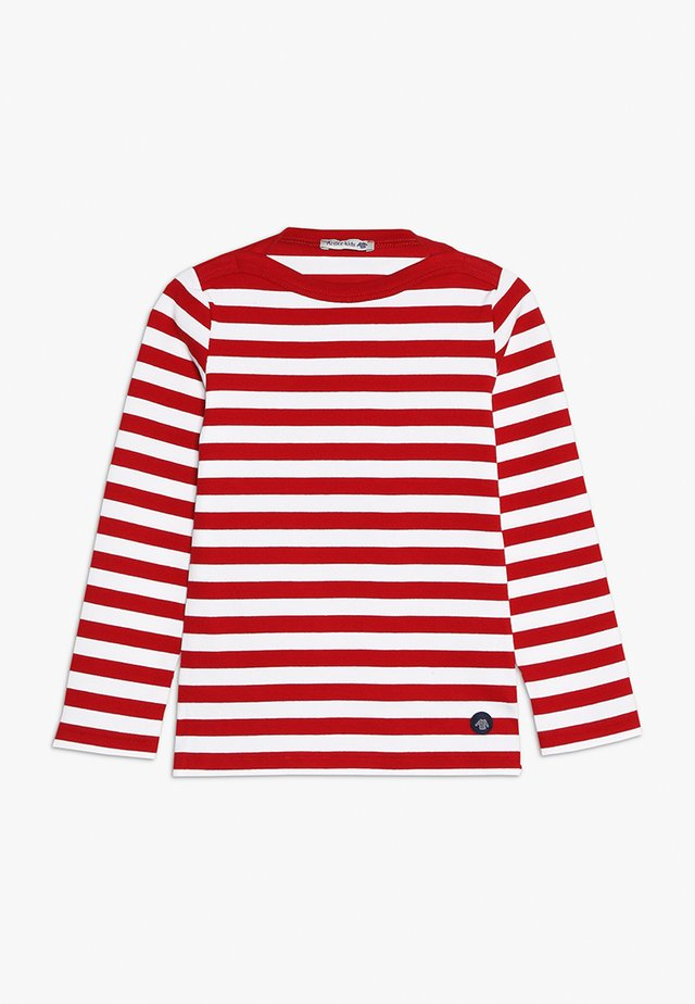 MARINIÈRE TRÉGUNC KIDS - Långärmad tröja - braise/blanc