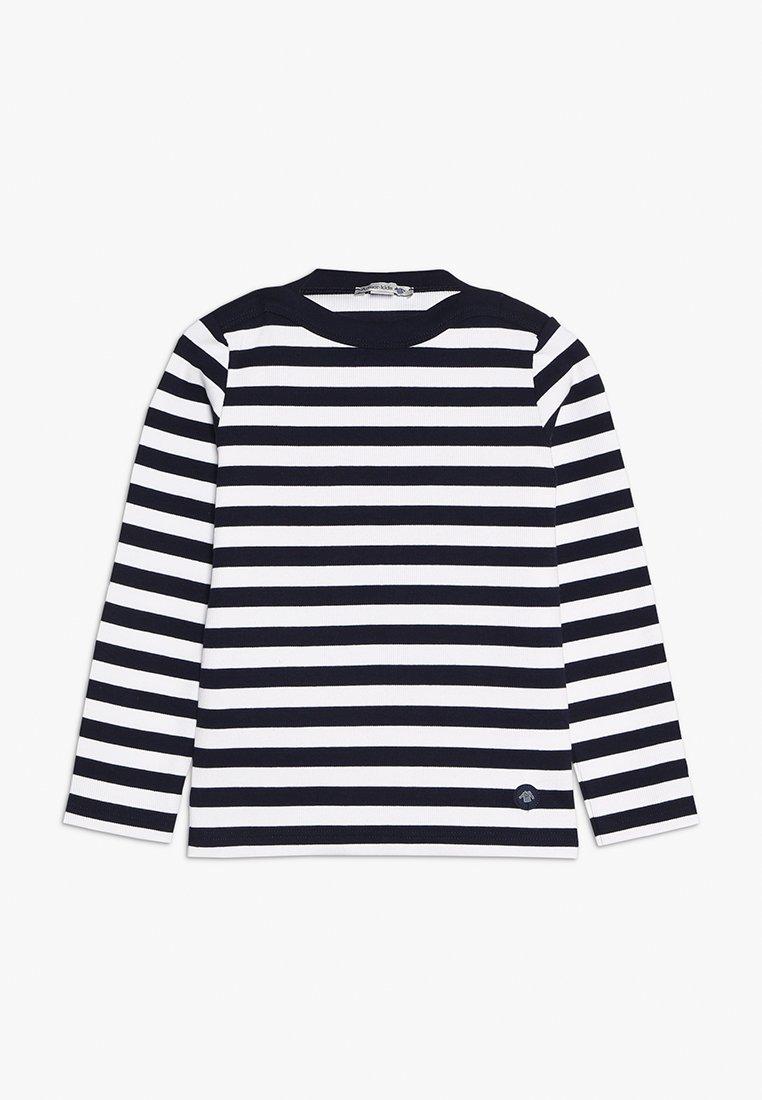Armor lux - MARINIÈRE TRÉGUNC KIDS - T-shirt à manches longues - navire/blanc