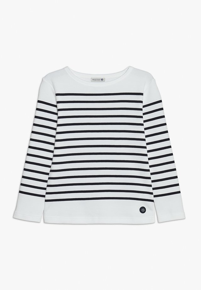 MARINIÈRE AMIRAL KIDS - Long sleeved top - blanc/navire