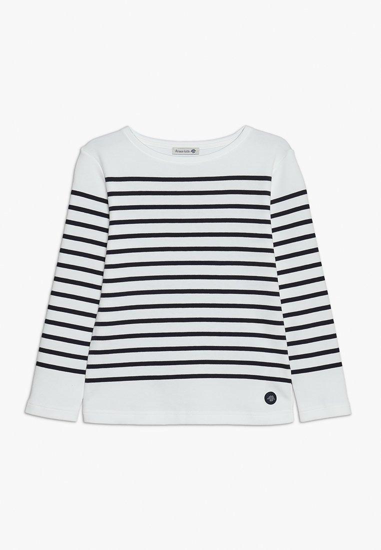 Armor lux - MARINIÈRE AMIRAL KIDS - Langærmede T-shirts - blanc/navire